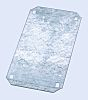 Chassis plate for IP66 box,750X750X3mm