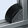 Bosch Rexroth Black Polypropylene Angle Bracket Cap 45