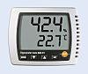 Testo 608-H1 Digital Thermohygrometer, +50°C / 95%RH, ISO-kalibriert