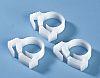 HellermannTyton Cable Clip Natural Polyacetal Snapper Hose Clip,