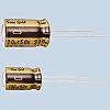 Nichicon 100nF 50V dc Aluminium Electrolytic Capacitor, Through