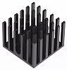 Heatsink, Universal Square Alu, 23.4K/W, 23 x 23