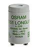 Osram 4050300854083, Glow Fluorescent Light Starter, 4 →