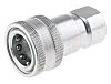 Parker Steel Female Hydraulic Quick Connect Coupling H4-62-BSPP