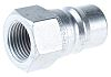 Parker Steel Male Hydraulic Quick Connect Coupling H4-63-BSPP
