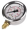 WIKA 9626926 Analogue Positive Pressure Gauge Bottom Entry