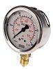 WIKA 9626951 Analogue Positive Pressure Gauge Bottom Entry