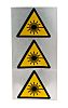 Brady Self-Adhesive Hazard Warning Sign