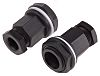 RS PRO M20 Cable Gland With Locknut, Plastic,
