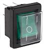 Arcolectric Illuminated Double Pole Single Throw (DPST), On-Off