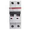 ABB System M Pro S200 Sicherungsautomat, Leitungsschutzschalter Typ C, 2-polig 6A, Abschaltvermögen 10 kA