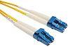 RS PRO OS1 Single Mode Fibre Optic Cable LC 9/125μm 1m