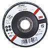 3M 566A Zirconia Aluminium Flap Disc, 115mm, Medium