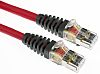 Brand-Rex Red Cat6 Cable S/FTP LSZH Male RJ45/Male