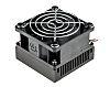 Heatsink, Universal Square Alu with fan, 0.5K/W, 60