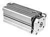 SMC Pneumatic Guided Cylinder 50mm Bore, 100mm Stroke,