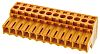 Weidmuller BL Non-Fused Terminal Block, 12 Way/Pole, Screw