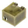 1kΩ, SMD Trimmer Potentiometer 0.25W Top Adjust Bourns,
