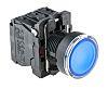 Schneider Electric, Harmony XB5 Illuminated Blue Round, NO/NC,