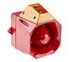 Asserta Midi Sounder Beacon, 112dB, Amber LED, 230