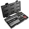 GearWrench 80300 51 Piece Socket Set, 1/4 in