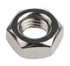 RS PRO Stainless Steel Hex Nut, Plain, M10