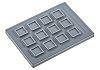 Storm IP67 12 Key Aluminium Keypad