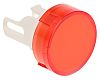 Red Round Push Button Lens