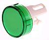Green Round Push Button Lens