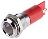 RS PRO Red Indicator, 12 V, 14mm Mounting