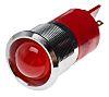 RS PRO Red Indicator, 12 V dc, 22mm