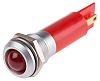 RS PRO Red Indicator, 230 V ac, 12mm