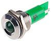 RS PRO Green Indicator, 24 V ac/dc, 19mm