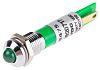RS PRO Green Flashing LED Indicator, 12 V
