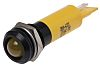 RS PRO Yellow Indicator, 12 V, 12mm Mounting