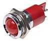 RS PRO Red Indicator, 12 V, 22mm Mounting