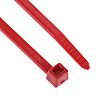 HellermannTyton, T50R Series Red Nylon Cable Tie, 200mm
