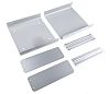 Aluminium Project Box, Grey, 180 x 185 x