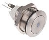 APEM Latching Red LED Push Button Switch, IP65,