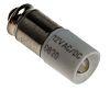 LED Reflector Bulb, Midget Groove, White, Single Chip,