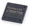 Cirrus Logic CS8900A-CQ3Z, Ethernet Controller, 10MBps AUI, ISA,