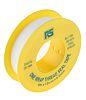 RS PRO White PTFE Tape 12mm x 5m x 0.2mm
