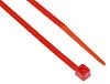 RS PRO Red Nylon Cable Tie, 100mm x