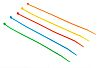 RS PRO Assorted Cable Tie Nylon, 150mm x 3.6 mm