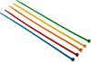 RS PRO Assorted Nylon Cable Tie, 300mm x