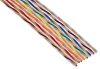 RS PRO 16 Way Twisted Ribbon Cable, 20.98