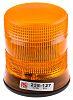 RS PRO Amber Xenon Beacon, 10 → 100 V dc, Flashing, Surface Mount
