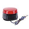 Výstražný maják Blikající barva Červená Xenon 26mA Povrchová montáž 230 V AC EMC, V souladu s RoHS