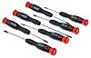 RS PRO Precision Phillips, Slotted Screwdriver Set 7
