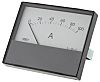 HOBUT R68M Analogue Panel Ammeter 100A DC, 63.5mm